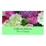 Flores elegantes bonito que Wedding o planejador o Cartoes De Visitas