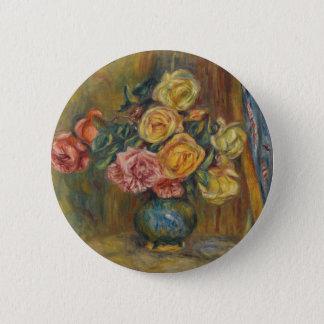 Flores em um vaso bóton redondo 5.08cm