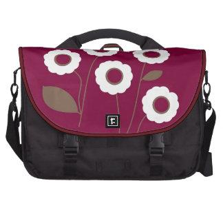 Flores estilizados, em produtos customizáveis mochila para notebook