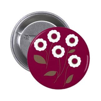 Flores estilizados, em produtos customizáveis boton