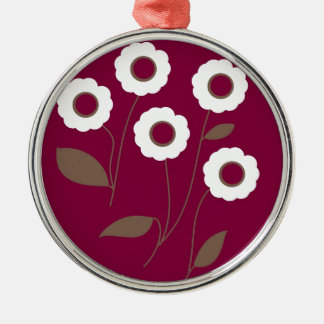 Flores estilizados, em produtos customizáveis enfeites para arvores de natal