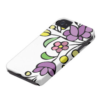 Flores florais do roxo das capas de iphone