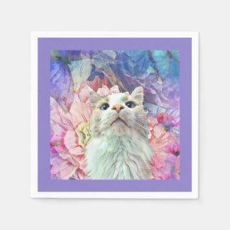 Flores & guardanapo de papel de Flutterbys