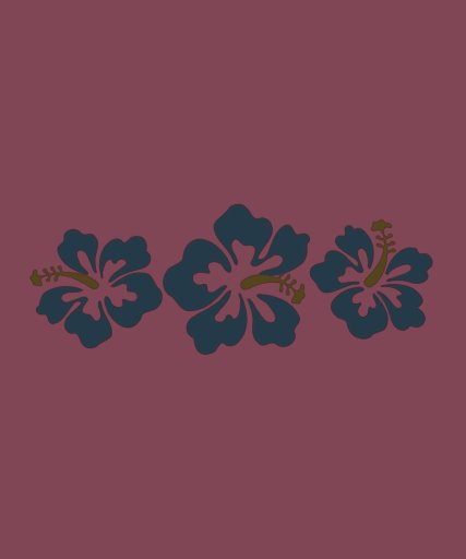 Flores havaianas do hibiscus t-shirts