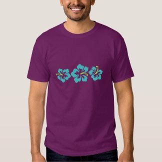 Flores havaianas do hibiscus tshirt