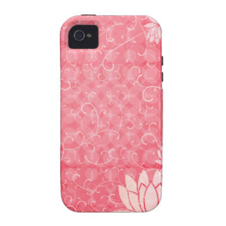 Flores ilustrativas capinhas para iPhone 4/4S