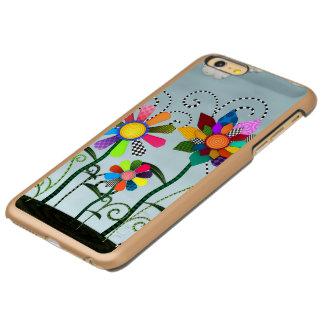Flores lunáticas capa incipio feather® shine para iPhone 6 plus