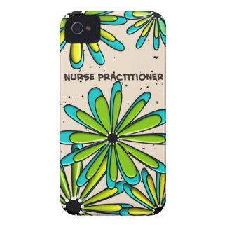 Flores lunáticas do médico da enfermeira II Capinha iPhone 4