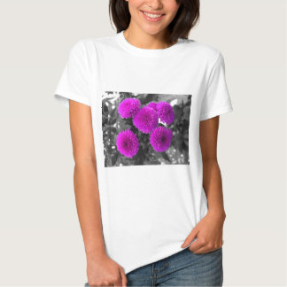 Flores malva tshirts