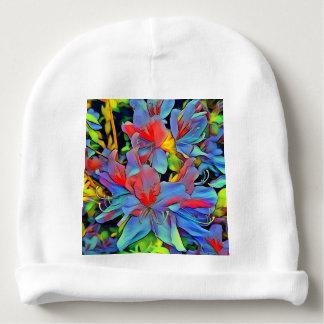 Flores maravilhosas florais de ArtStudio Gorro Para Bebê