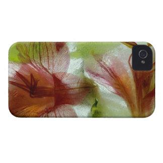 Flores no gelo capinhas iPhone 4