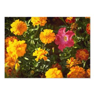 Flores para o culto convite 12.7 x 17.78cm