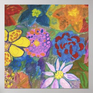 Flores Pôsteres
