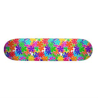 Flores psicadélicos Groovy Shape De Skate 18,1cm