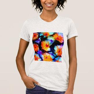 Flores retros tshirts