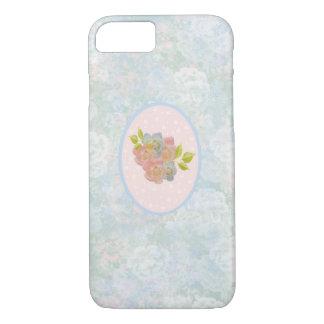 Flores românticas capa iPhone 7