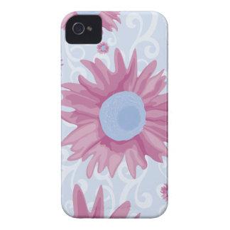 Flores roxas capinha iPhone 4