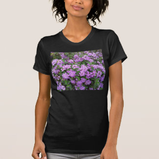 Flores roxas pequenas tshirts