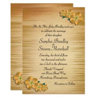 Flores rústicas que Wedding o convite