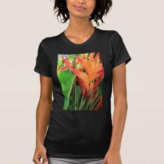 Flores tropicais brilhantes de Heliconia Tshirt