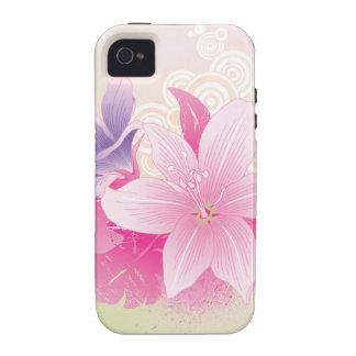 Flores tropicais capinhas para iPhone 4/4S