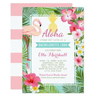 Flores tropicais dos convites | de Bachelorette