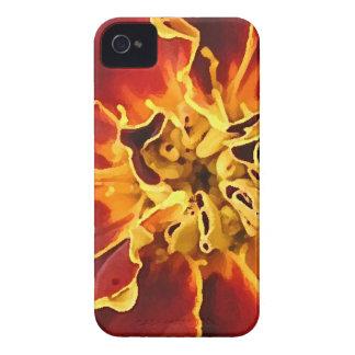 Flores vermelhas capa para iPhone