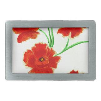 Flores vermelhas da papoila