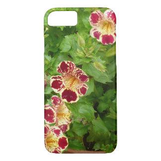 Flores vermelhas e amarelas do lírio de tigre capa iPhone 7
