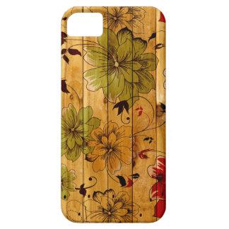 Floresça capas de iphone florais do caso do iPhone Capa Barely There Para iPhone 5