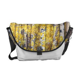 Floresta amarela bolsa mensageiro