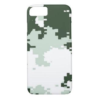 Floresta Camo do inverno Capa iPhone 7