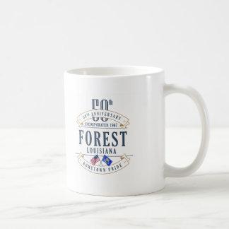 Floresta, caneca do aniversário de Louisiana 50th
