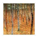 Floresta da faia pelo impressão das canvas de impressão em tela