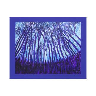 Floresta de Stardust da cópia das canvas Impressão De Canvas Esticada
