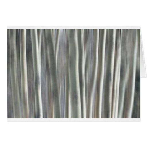Floresta dos sonhos cartão