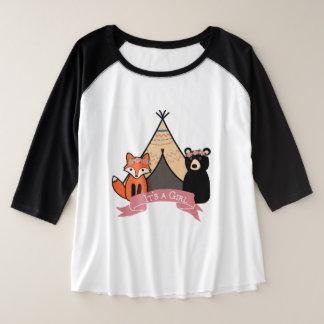 """Floresta """"é camisa de uma menina"""" mais o tamanho"""