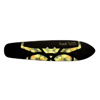 """Floresta Negra"" - Karib WLD Longboard Skate"