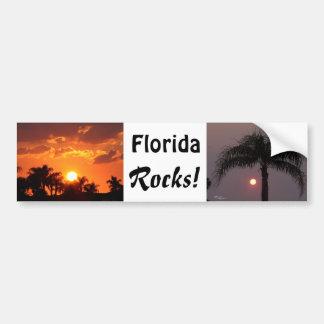 Florida balança o autocolante no vidro traseiro adesivo para carro