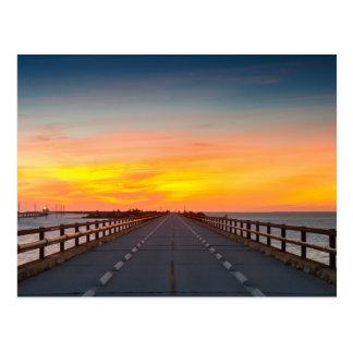Florida - cartão da ponte de sete milhas