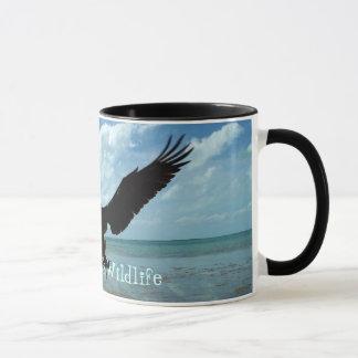 Florida fecha a arte da caneca de café do pássaro
