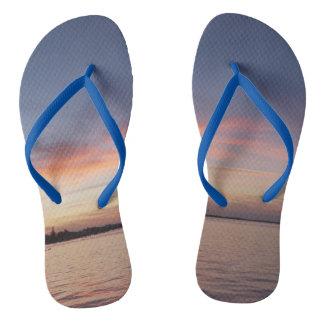 Florida fecha chinelos do por do sol