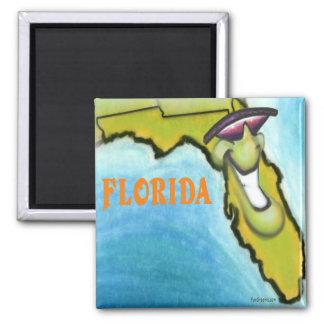 Florida Ímã Quadrado