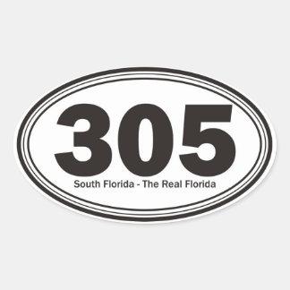 Florida sul adesivo oval