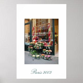 Florista 2003 de Paris Pôster