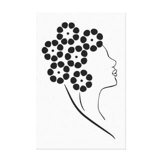 Florista de Nouveau da arte Impressão Em Tela