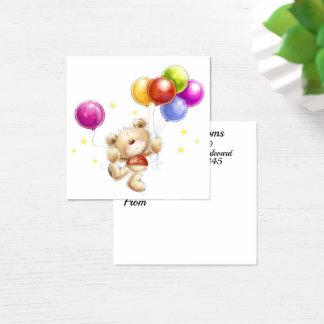 Florista, presente, cerco, cartão de visita
