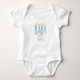 Flourish, bebê, flourish! body para bebê