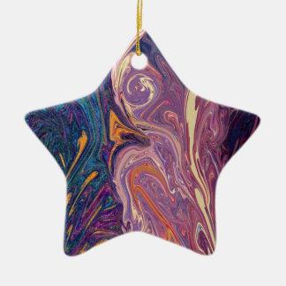 Flowdance Ornamento De Cerâmica