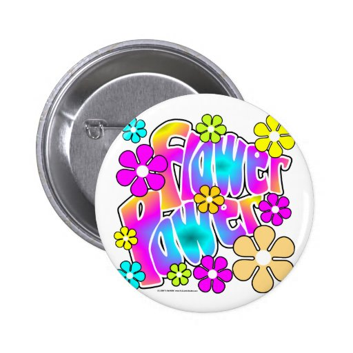Flower power pins